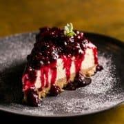 Metropolita Roma | Cheesecake ai frutti di bosco